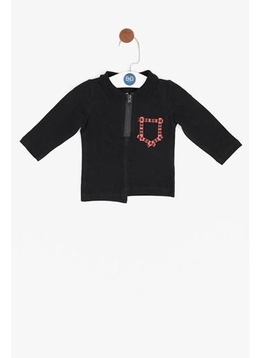 BG Baby Erkek Bebek Siyah T-Shirt Siyah
